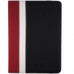 "e-Vitta - Booklet 6P 6"" Folio Negro, Rojo, Color blanco funda para libro electrónico"