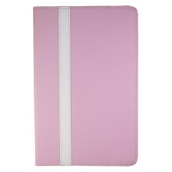 "e-Vitta - Booklet 6P 6"" Folio Rosa, Blanco funda para libro electrónico"
