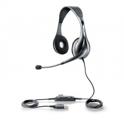 Jabra - UC VOICE 150 MS duo Binaurale Diadema Gris auricular con micrófono