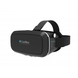 CoolBox - COO-VR3D-01 Gafas de realidad virtual 680g Negro dispositivo de visualización montado en un casco