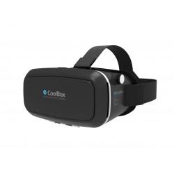 CoolBox - COO-VR3D-01 Smartphone-based head mounted display 680g Negro dispositivo de visualización montado en un c