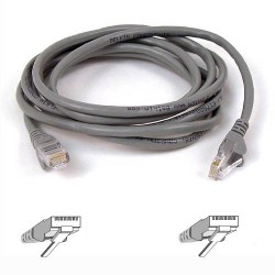 Belkin - 50m RJ-45 CAT-5e cable de red 0,5 m Gris