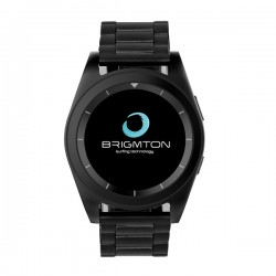 """Brigmton - BWATCH-BT6 1.2"""" IPS Negro reloj inteligente"""