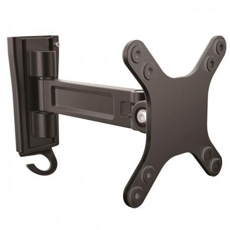 StarTechcom - Soporte de pared de un solo giro para monitor - Montura VESA para Pantallas de hasta 27 Pulgadas
