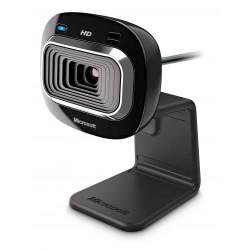 Microsoft - LifeCam HD-3000 1MP 1280 x 720Pixeles USB 2.0 Negro cámara web