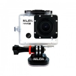 "Nilox - Mini Wi-Fi 10MP Full HD 1/2.7"" CMOS Wifi 73g cámara para deporte de acción"