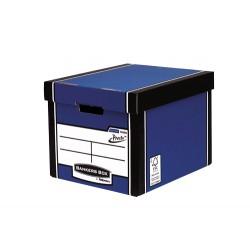 Fellowes - 7260601 Papel Azul caja y organizador para almacenaje de archivos