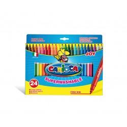 Carioca - Joy Fino Multicolor 24pieza(s) rotulador