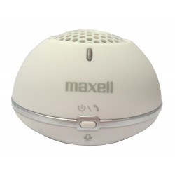 Maxell - MXSP-BT01 Mono portable speaker 2W Blanco