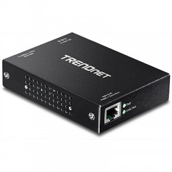 Trendnet - TPE-E100 800Mbit/s Negro repetidor y transceptor