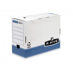 Fellowes - 0027701 Azul, Color blanco caja y organizador para almacenaje de archivos