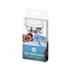 HP - Papel fotográfico adhesivo ZINK™ de 20 hojas/5 x 7,6 cm (2 x 3 pulg.)
