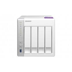 QNAP - TS-431P servidor de almacenamiento Ethernet Torre Blanco NAS