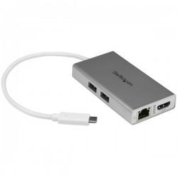 StarTech.com - Adaptador USB-C Multifunción para Ordenadores Portátiles - con Entrega de Potencia - 4K HDMI - USB 3