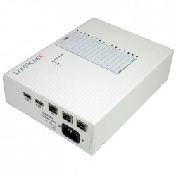Lantronix - EDS-MD servidor de impresión LAN Ethernet Blanco