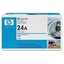 HP - Cartucho de tóner original LaserJet 24A negro