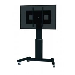 "Newstar - PLASMA-M2500BLACK 100"" Portable flat panel floor stand Negro soporte de pie para pantalla plana"