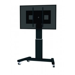 "Newstar - PLASMA-M2500BLACK soporte de pie para pantalla plana Portable flat panel floor stand Negro 2,54 m (100"")"