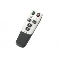 Doro - HandleEasy 321rc Botones Negro, Color blanco mando a distancia