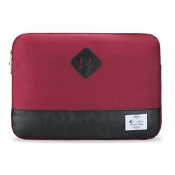"e-Vitta - Sleeve Heritage maletines para portátil 35,6 cm (14"") Funda Negro, Rojo"