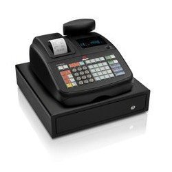 Olivetti - ECR 6800LD Transferencia térmica 400PLUs VFD caja registradora