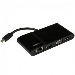 StarTech.com - Adaptador Multipuertos USB-C para Ordenadores Portátiles - HDMI o VGA 4K - USB 3.0