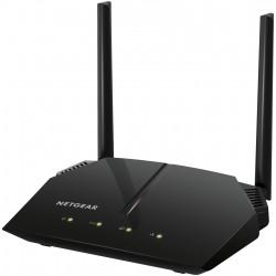 Netgear - R6120 router inalámbrico Doble banda (2,4 GHz / 5 GHz) Ethernet rápido Negro