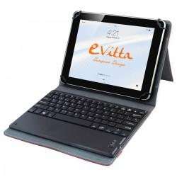 e-Vitta - EVUN000707 Bluetooth Rojo teclado para móvil