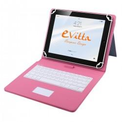 e-Vitta - EVUN000705 USB Rosa teclado para móvil