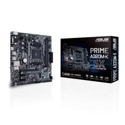 ASUS - MB PRIME A320M-K placa base Zócalo AM4 Micro ATX AMD A320