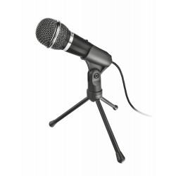 Trust - 21671 PC microphone Alámbrico Negro micrófono