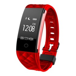 "Woxter - SmartFit 15 Wristband activity tracker 0.96"" OLED Inalámbrico IP67 Negro, Rojo"