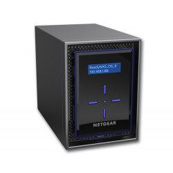 Netgear - ReadyNAS 422 C3338 Ethernet Escritorio Negro NAS - RN422D4-100NES