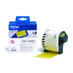 Brother - DK-44605 Continuous Removable Yellow Paper Tape (62mm) Amarillo