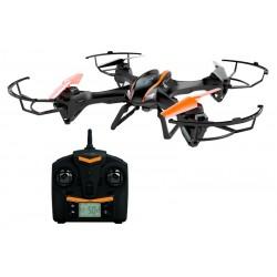 Denver - DV-DCH-600 4rotors 2MP 1280 x 720Pixeles 1000mAh Negro, Gris, Naranja dron con cámara