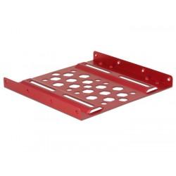 """DeLOCK - 21290 3.5"""" Carrier panel Rojo panel bahía disco duro"""