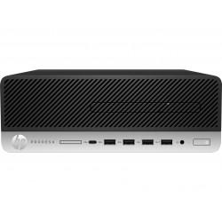 HP - ProDesk 600 G3 3,4 GHz 7ª generación de procesadores Intel® Core™ i5 i5-7500 Negro, Plata SFF PC - 22040099