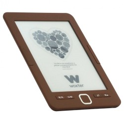 "Woxter - Scriba 195 6"" 4GB Chocolate lectore de e-book"