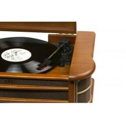 Denver Electronics - MCR-50 tocadisco Marrón