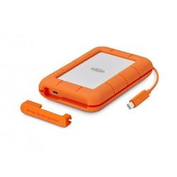 LaCie - STFS500400 500GB Naranja, Color blanco unidad externa de estado sólido