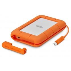 LaCie - STFS1000401 unidad externa de estado sólido 1000 GB Naranja, Blanco