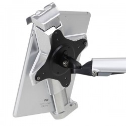 Ergotron - 45-460-026 Carro para administración de tabletas Plata mueble y soporte para dispositivo multimedia
