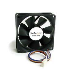StarTech.com - Ventilador Fan para Chasis Caja de Ordenador PC Torre - 80x25mm - Conector PWN
