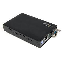 StarTech.com - Conversor de Medios Gigabit a Fibra Multimodo Modo 1000Mbps LC 550m