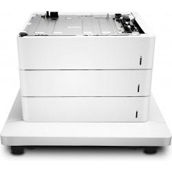 HP - Alimentador de hojas y soporte de la impresora Color LaserJet de 3x550