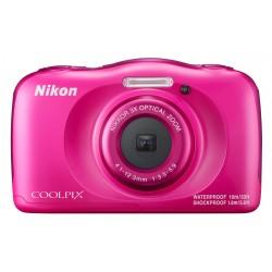 """Nikon - COOLPIX W100 Kit Cámara compacta 13,2 MP 1/3.1"""" CMOS 4160 x 3120 Pixeles Rosa"""