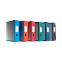 Fellowes - Combi Box E500 Azul caja y organizador para almacenaje de archivos
