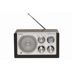 Denver - TR-61 Portátil Negro radio