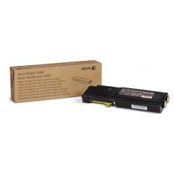 Xerox - Cartucho de tóner amarillo de capacidad normal para Phaser 6600/WorkCentre 6605 (2000 páginas)