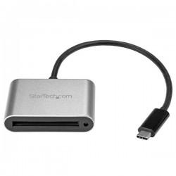 StarTech.com - Lector Grabador USB 3.0 USB-C Tipo C de Tarjetas de Memoria Flash Cfast Alimentado por USB